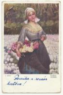 Kunstler AK - J. Suss - Suess ,, L Art Du Monde - Springtime , Used Old Postcard - Suess, Josef
