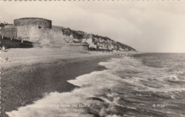 Postcard Sandgate Castle From The Beach [ Folkestone ] PU 1960 My Ref  B13653 - Folkestone