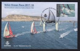 1.- SPAIN 2018 FDC SAILING - Vela