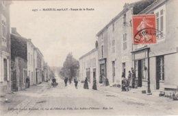 CPA Dept 85 MAREUIL SUR LAY Route De La Roche - Mareuil Sur Lay Dissais
