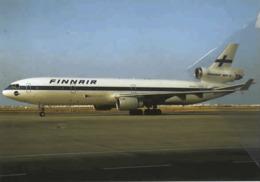 Finnair Airlines MD-11 OH-LGA Airlines Aereo Airways At Faro Airplane Finlandia - 1946-....: Era Moderna