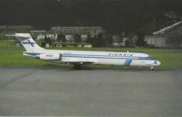 Finnair Airlines MD-87 OH-LMA Airlines Aereo Airways At Innsbruck Airplane Finlandia - 1946-....: Era Moderna