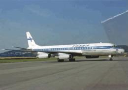 Finnair Airlines Douglas DC-8-62 N987AS Airlines Aereo Airways Airplane Finlandia - 1946-....: Era Moderna