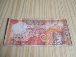 Sri Lanka.Billet 100 Rupees 01/01/1987. - Sri Lanka