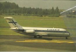 Finnair Airlines DC-9-14  OH-LYB Airlines Aereo At Helsinki Airways Airplane Finlandia - 1946-....: Era Moderna