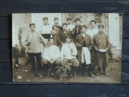 Z27 - Guerre 1914-18 - Groupe De Militaires En 1916 à Suze La Rousse - 26 - Voir Correspondance Au Dos - Guerre 1914-18