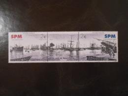 ST-PIERRE-ET-MIQUELON YT 816/817 LE PORT DE ST-PIERRE EN 1928** - Neufs