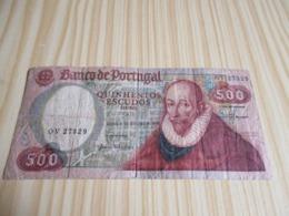 Portugal.Billet 500 Escudos 04/10/1979. - Portugal