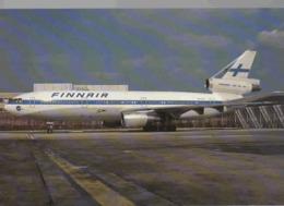 Finnair Airlines DC-10-30  OH-LHD Airlines Aereo Airways Airplane Finlandia - 1946-....: Era Moderna