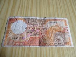 Sri Lanka.Billet 100 Rupees 21/02/1989. - Sri Lanka