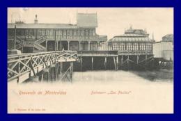 Montevideo * Balnearin Los Pocitos   ( Scan Recto Et Verso ) - Uruguay