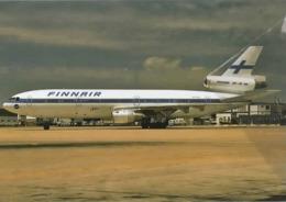 Finnair Airlines DC-10-30  OH-LHD Airlines Aereo Airways Airplane At Fano Finlandia - 1946-....: Era Moderna