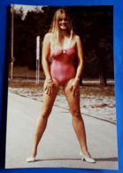 Original 70's Vintage SEXY PIN-UP GIRL Photo - Ca. 20 X 30 Cm - Junge Frau, Jeune Femme, Young Woman [19-866] - Pin-ups