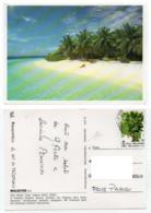 Maldives 002, Atoll, Beau Timbre Arbre - Maldiven