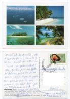 Maldives 003, Male Atoll, Beau Timbre Papillon - Maldiven