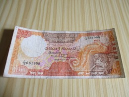 Sri Lanka.Billet 100 Rupees 01/02/1988. - Sri Lanka