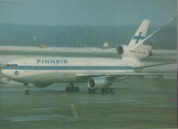 Finnair Airlines DC-10-30  OH-LHB Airlines Aereo Airways Airplane Finlandia - 1946-....: Era Moderna