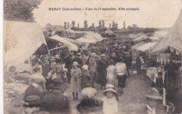 CPA Dept 41 MARAY Foire Du 14 Septembre Allée Principale - France