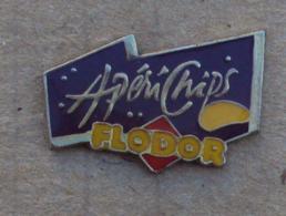 Pin's Alimentation 056, Chips Flodor - ApériChips - Alimentation