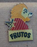 Pin's Alimentation 067, Yaourt Frutos Lion Fraise - Alimentation