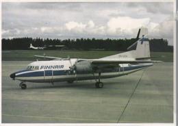 FOKKER F.27 Friendship Mk 200 OH-LKA Airlines  DC3 Airweys DC 3 Aviation Air Aerei - 1946-....: Era Moderna