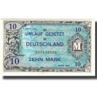 Billet, Allemagne, 10 Mark, 1944, KM:194a, NEUF - [ 5] Ocupación De Los Aliados