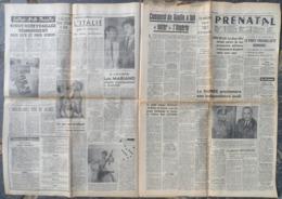 "1958.Exposition Krol.Luis Mariano à L'Olympia.Friedrich Albert Foertsch Photographié,il Servait Hitler.Renault ""Floride"" - Journaux - Quotidiens"