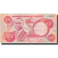 Billet, Nigéria, 10 Naira, KM:25b, TB - Nigeria