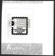 Norge Norway 2010 My Stamp Personalized Personalised Salon Philatelique Paris Like MiNr. 1713 Postfrisch Neuf MNH ** - Norwegen