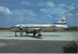 Finnair Airlines Convair 340 Metropolitan OH-KRG 50° AIRPLANE FINLANDIA - 1946-....: Era Moderna