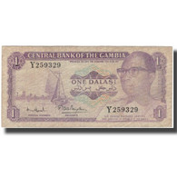 Billet, The Gambia, 1 Dalasi, KM:4g, TB - Gambie