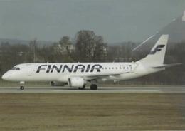 Finnair Airlines ERJ-190-100  OH-LKI Airplane FINLANDIA - 1946-....: Era Moderna