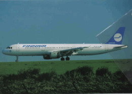 Finnair Airlines A321 OH-LBA Airplane FINLANDIA - 1946-....: Era Moderna