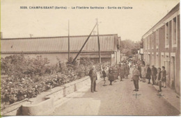 CHAMPAISSANT (Sarthe) La Filetière Sarthoise - Sortie De L'usine - Other Municipalities