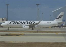 Finnair Airlines A321 OH-LZG Airplane FINLANDIA At Hamburgo At PMI - 1946-....: Era Moderna
