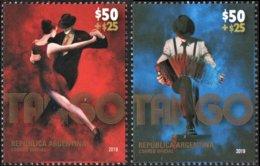 ! ARGENTINE / ARGENTINA: Tango - Dancing / Music / Danse / Musique (2019) MNH *** Neufs - Musica