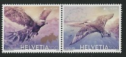 "SUIZA/ HELVETIA / SWITZERLAND/ SCHWEIZ - EUROPA 2019 -NATIONAL BIRDS.-""AVES - BIRDS - VÖGEL -OISEAUX""- SERIE De 2 TIMBRE - 2019"