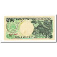 Billet, Indonésie, 500 Rupiah, 1995, KM:128a, SPL - Indonesien