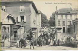 BACCARAT  (Meurthe Et Moselle) Sorties Des Ouvriers à 11 Heures - Baccarat