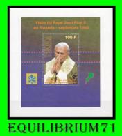 BL 107** (1379) - Visite De Jean Paul II / Bezoek Van Paus Johannes Paulus II - Rwanda