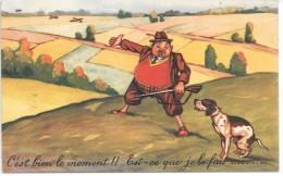CHASSEUR Et Leur Chien - Illustration - 832/10 - Hunting
