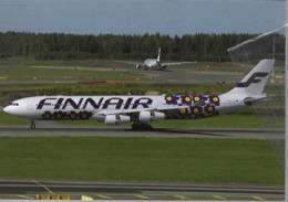 Finnair Airlines A340 OH-LQD Airplane FINLANDIA At HEL - 1946-....: Era Moderna