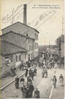 CHAUFFAILLES  (Saône Et Loire) Rue Du Commerce Usine Gainon - Autres Communes