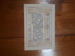 1932 FASCISMO - BIGLIETTO INVITO CAMPIONATI TIRO A VOLO PICCIONE PIATTELLO ROMA - Match Tickets