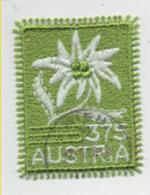 Österreich 2006 Edelweiss MiNr.:2538 Textilmarke Gestempelt; Austria Used - 1945-.... 2nd Republic
