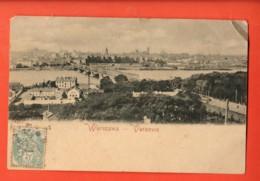 MYB-08 Warszawa  Varsovie. Cachet Frontal. 1906 Pionier - Pologne