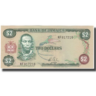 Billet, Jamaica, 2 Dollars, KM:65b, NEUF - Giamaica