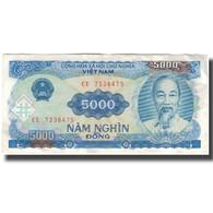Billet, Viet Nam, 5000 D<ox>ng, 1991, KM:108a, TTB - Viêt-Nam
