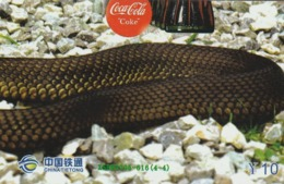 CHINA. PUZZLE. COCA COLA - SERPIENTE. ISBN2005-616(4-4). (096). - Puzzles
