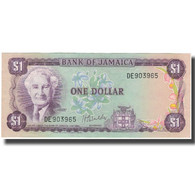 Billet, Jamaica, 1 Dollar, KM:59b, TTB+ - Jamaique
